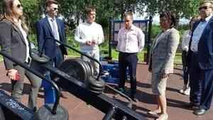 С результатами реализации национальных проектов в Холмогорском районе ознакомились представители общественного контроля