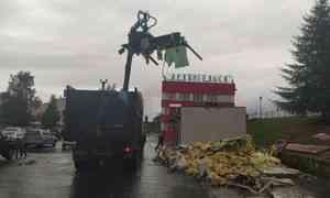 В Архангельске снесят незаконные ларьки у железнодорожного вокзала