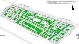 Современный квартал с 10 многоэтажками, детсадом и ФОКом появится в Майской горке