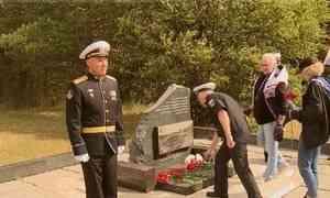Наберегу Белого моря День Военно-Морского Флота начался сторжественной церемонии навоинском мемориале острова Ягры