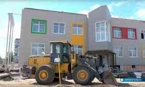 Строительство детсада в округе Майская горка в Архангельске отстаёт от графика