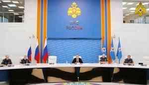 В МЧС России рассмотрены вопросы функционирования систем оповещения населения в регионах