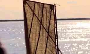 Архангельские специалисты Центра Грабаря закончили реставрацию редчайшего экспоната начала прошлого столетия - шпринтового паруса