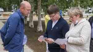 В Архангельске общественники проверили работу по созданию комфортной городской среды