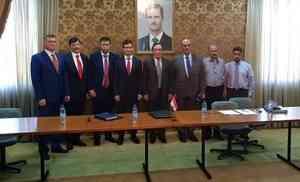 Сотрудники МЧС России совершили рабочую поездку в Сирийскую Арабскую Республику