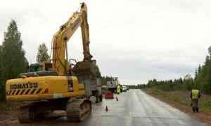 Национальный проект «Безопасные качественные дороги» в Архангельской области реализован на 60 процентов