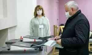 Около 35 процентов жителей Поморья проголосовали на выборах в Госдуму