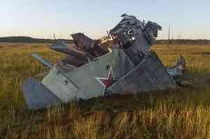 Чей самолёт упал в 80-е годы в Верхнетоемском районе?
