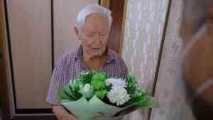 Житель Архангельска, ветеран, полковник внутренней службы в отставке Сергей Белов отмечает 95-летний юбилей