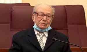 Сегодня исполнилось 95 лет архангелогородцу— Почётному сотруднику МВД России— Игорю Гринблату