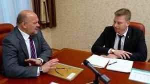 Игорь Орлов поддержал инициативу строительства новой школы в Вельском районе