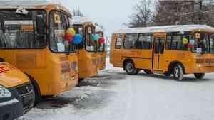 34 школьных автобуса пополнят автопарки учебных заведений Архангельской области