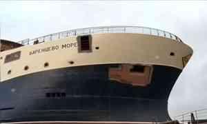 Головной траулер «Баренцево море» для Архангельского Тралфлота спущен наводу вВыборге