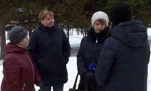 Округ Варавино-Фактория задал свои вопросы главе города Архангельска