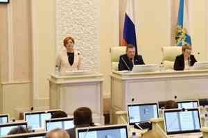 Вице-спикером Архангельского облсобрания стала Надежда Виноградова