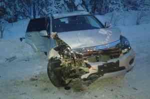 Трое человек пострадали в аварии в Пинежском районе