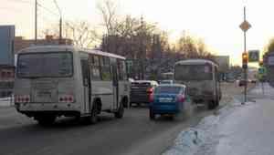 В Архангельске изменяется схема движения автобусов маршрута №43