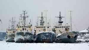 Военные гидрографы Северного флота последними закончили зимнюю навигацию