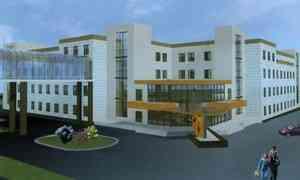 Остроительстве нового корпуса детской областной больницы рассказали сегодня журналистам