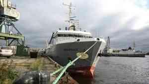 В Архангельск пришло первое в 2019 году судно с рыбой