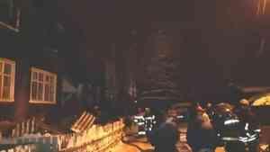 Несколько семей остались без жилья в результате пожара в «деревяшке» на Кегострове