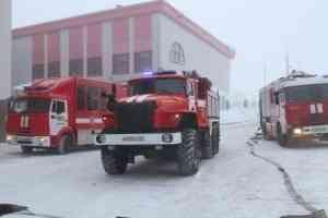 Крупные пожарно-технические учения прошли в Драмтеатре им. М.В. Ломоносова в Архангельске