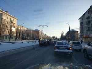 В Архангельске произошло ДТП с участием шести машин