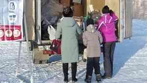 На экологической акции в Северодвинске собрано два фургона сырья