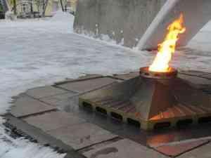 В Архангельске погас вечный огонь