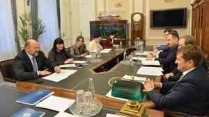 Игорь Орлов и руководитель Росрыболовства Илья Шестаков обсудили проведение международной конференции по вопросам промысла в Арктике