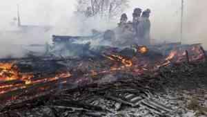 В Мезенском районе сын сжёг отцовский дом