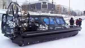 В Архангельске испытают пассажирскую аэролодку для островных территорий