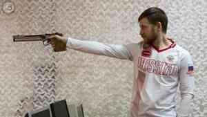 Стрелок Леонид Екимов завоевал золото в скоростной стрельбе из пистолета