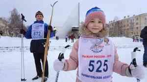 Пять тысяч человек вышли на «Лыжню России» в Архангельске