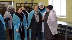 Председатель Архоблсобрания посетила с рабочим визитом Каргопольский район