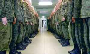 В армию призвали более 1300 жителей Архангельской области