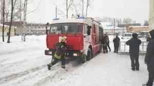 В здании судебного департамента провели тренировочную эвакуацию