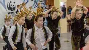 В Архангельске прошел яркий экологический праздник - День северного оленя