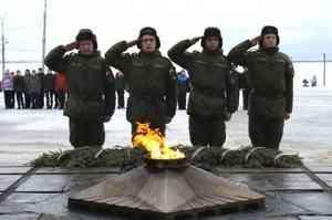 1,6 миллиона рублей в год тратит Архангельск на работу Вечного огня