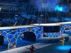 Путин на церемонии открытия универсиады: онлайн-трансляция