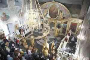 Митрополит Даниил совершил Литургию в воскресенье, напоминающее о Страшном суде