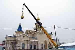 Храм Рождества Пресвятой Богородицы в Уйме обрел купола