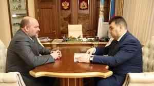Доставку грузов Севморпутем обсудили губернатор Игорь Орлов и глава Росатомфлота Мустафа Кашка