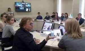 Артисты трёх профессиональных театров Архангельска встретились сошкольниками региона