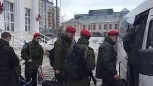Архангельские юнармейцы стали участниками военных сборов в Костроме