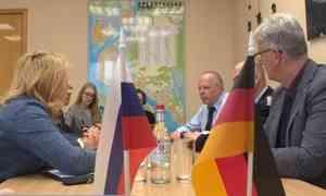 Вадминистрации Архангельска прошла встреча сделегацией муниципальной противопожарной службы немецкого Эмдена