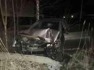 При ДТП в Северодвинске водителя зажало в автомобиле