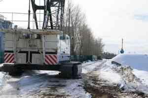 В Архангельске реконструируют набережную Седова
