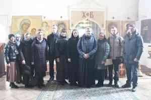 Молодежь Архангельска совершила паломническую поездку в Антониево–Сийский монастырь