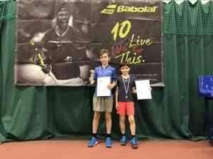 Юный архангельский теннисист завоевал свой первый трофей на турнире РТТ